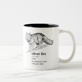 SILVER FOX Two-Tone COFFEE MUG