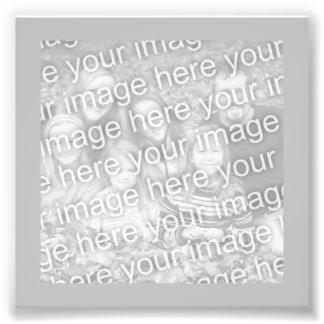 Silver Frame Photo