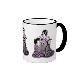 Silver Geisha Mug