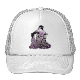 Silver Geisha Trucker Hat