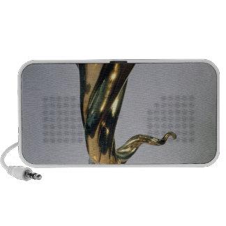 Silver gilt standing cup laptop speaker