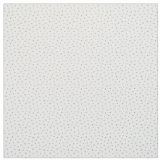 Silver glitter dots fabric