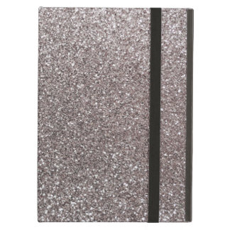 Silver glitter cover for iPad air