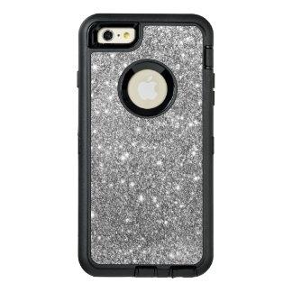 Silver Glitter Print Sparkling Phone Case