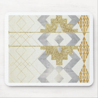 silver,gold,rustic,retro,vintage,geometry,pattern, mouse pad