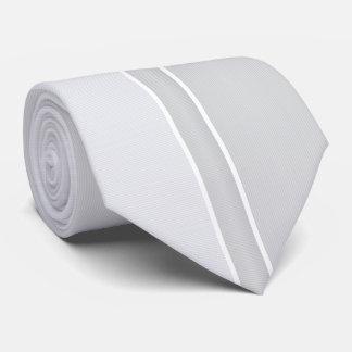 Silver/Gray Pinstriped Tie