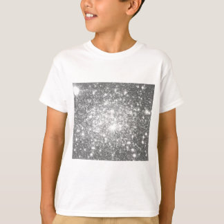 Silver Gray Sparkle T-Shirt
