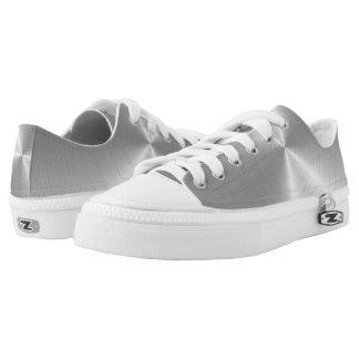 Silver/Grey Steel Illusion Design Sneaker