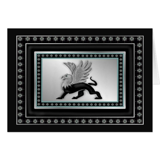 Silver Griffin Card