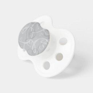 Silver heart pattern dummy