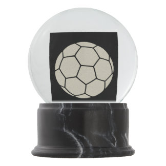 Silver Hearts love Volleyball snowglobe Snow Globes