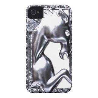 Silver Horse iPhone 4 Case