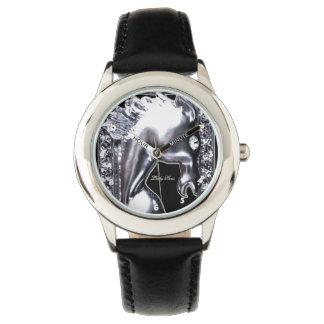 Silver Horse Watch