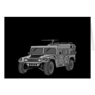Silver Hummer Greeting Cards