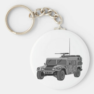 Silver Hummer Key Ring