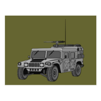 Silver Hummer Post Cards