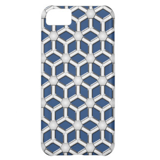 Silver II Tiled Hex CaseMate iPhone 5C Case