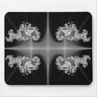 Silver Jewel Cross Mousepad