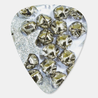 Silver Jingle Bells Plectrum