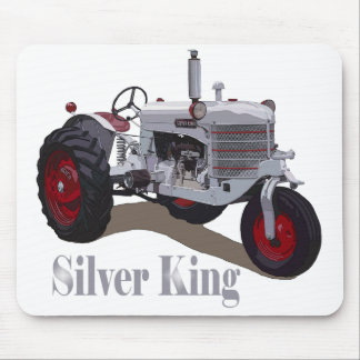 Silver King Tractor Mouse Mat