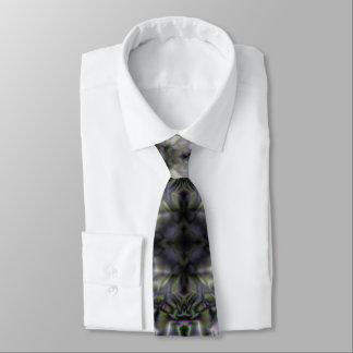 Silver Lace Tie