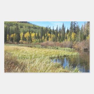 Silver Lake -Brighton, Utah Rectangular Sticker