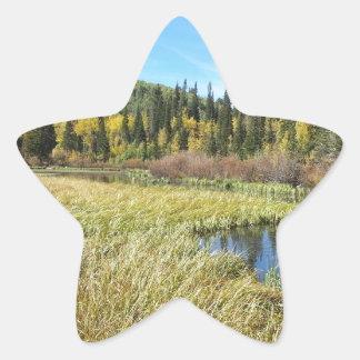 Silver Lake -Brighton, Utah Star Sticker