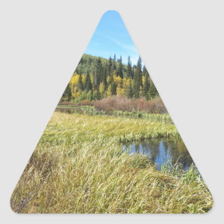 Silver Lake -Brighton, Utah Triangle Sticker