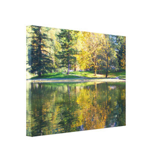 Silver Lake Gallery Wrap Canvas