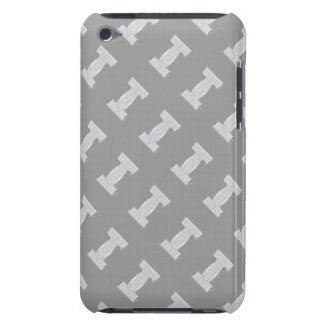 Silver Letter I iPod Touch Case-Mate Case
