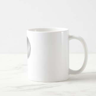 Silver Letter P Coffee Mug