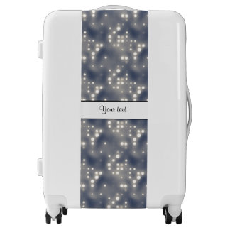Silver Lights Luggage