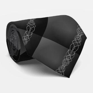 Silver Lights Tie