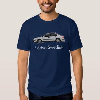 silver-linear-SS, I drive Swedish Tshirts