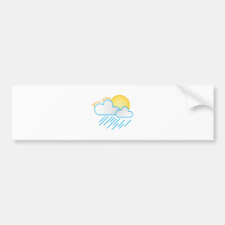 Silver Lining Bumper Stickers