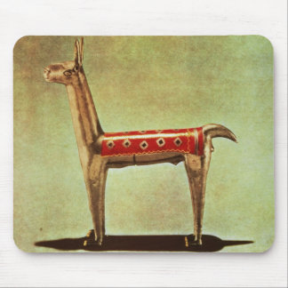 Silver Llama Figurine, from Peru, after 1438 Mouse Mat