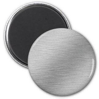 Silver 6 Cm Round Magnet