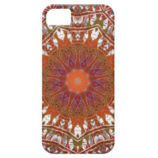Silver Mandala iPhone 5 Covers