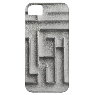 Silver maze case for the iPhone 5