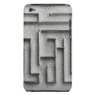 Silver maze Case-Mate iPod touch case