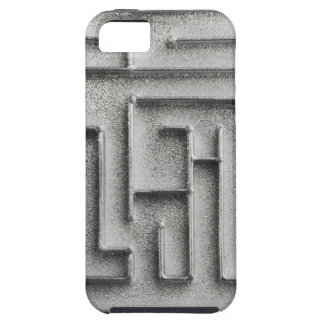 Silver maze iPhone 5 cover