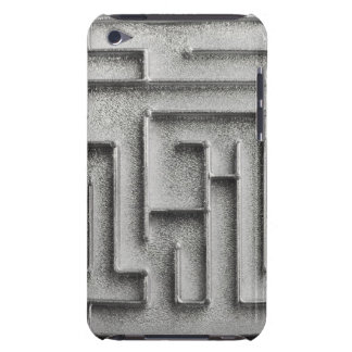 Silver maze iPod Case-Mate case