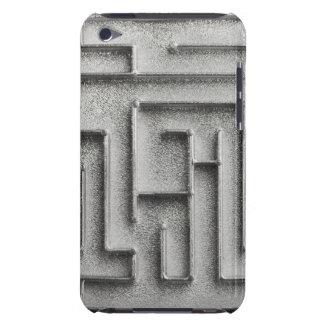 Silver maze iPod Case-Mate cases