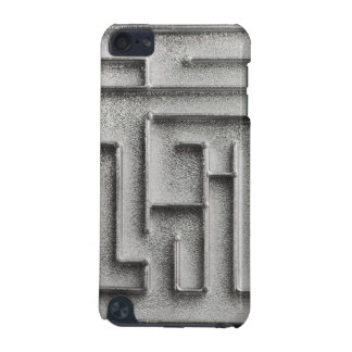 Silver maze iPod touch (5th generation) case