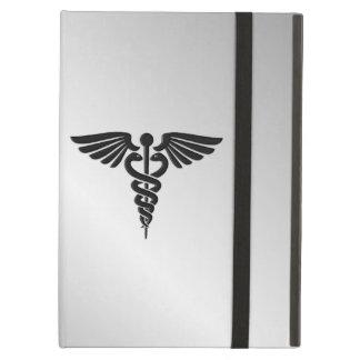 Silver Medical Caduceus iPad Air Cover