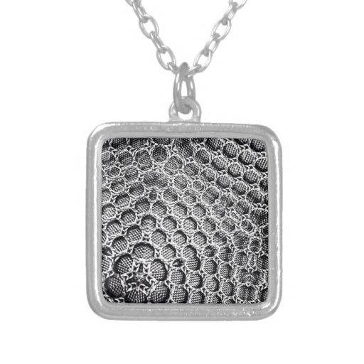 Silver Mesh Custom Necklace