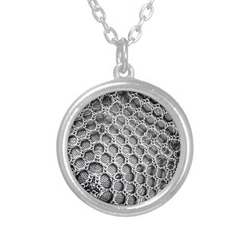 Silver Mesh Necklaces