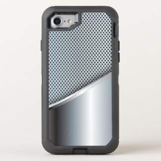 Silver Mesh OtterBox Defender iPhone 8/7 Case