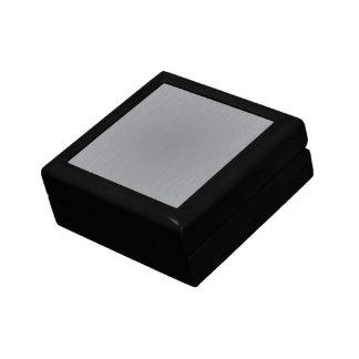 Silver Metal Look Gift Box