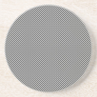 Silver Metal With Holes Pattern Beverage Coaster